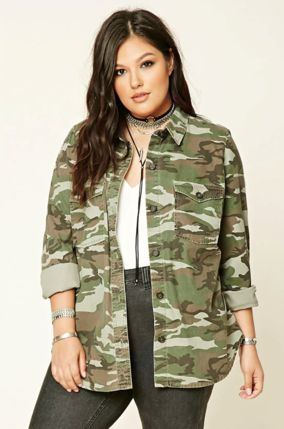 ed0b4c0971518 Forever 21 Camo Utility Jacket   Prints to Wear For Fall 2017 ...