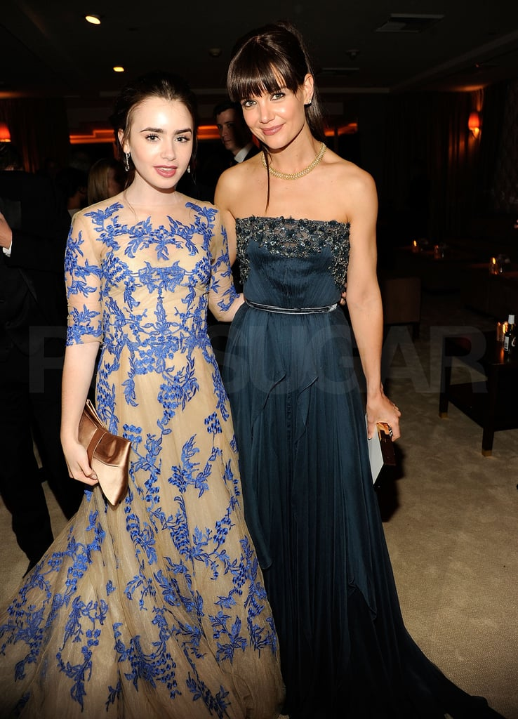 Lily Collins, Katie Holmes