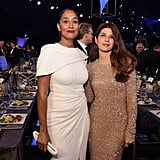 Pictured: Tracee Ellis Ross and Marisa Tomei