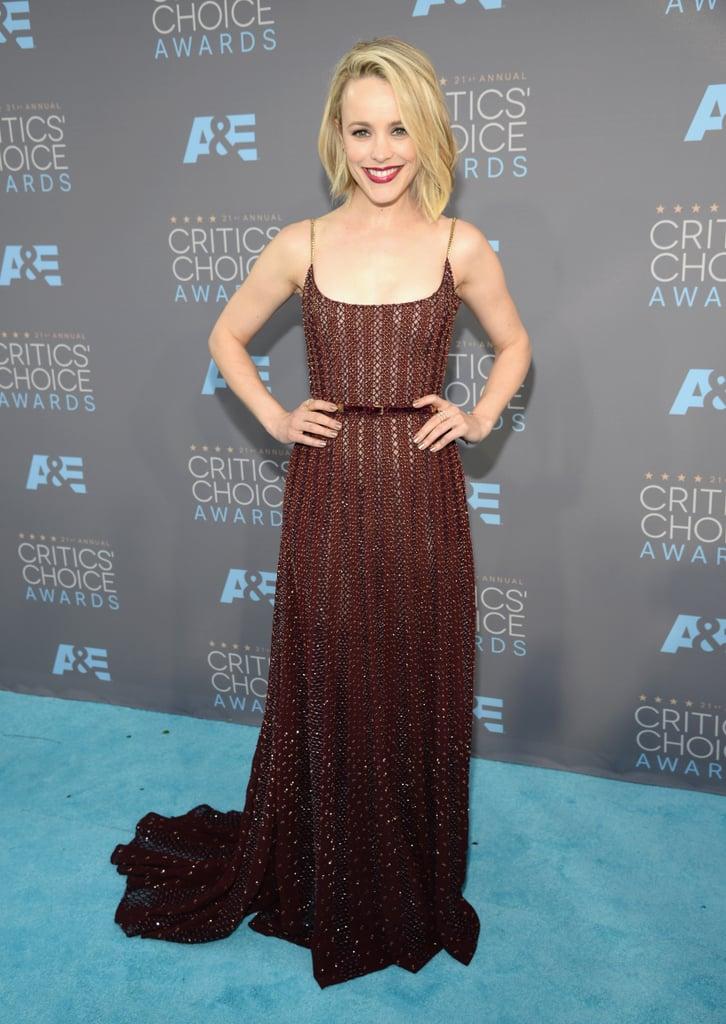 Rachel McAdams Stuns In Sexy Cutout Dress - HuffPost