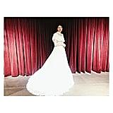 Tabitha Simmons's Dolce & Gabbana Wedding Dress