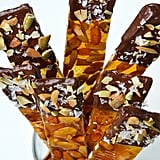 Chocolate-Dipped Pumpkin Seed Brittle