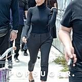 Kim Kardashian Takes a Tumble