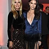 Heidi Klum and Kendall Jenner