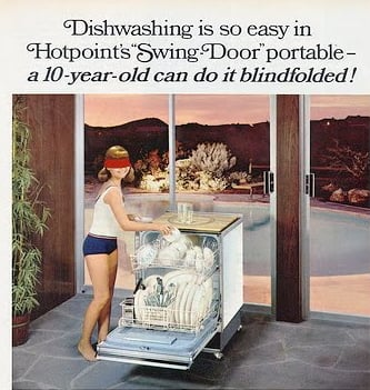 Dishwasher Ad From 1966