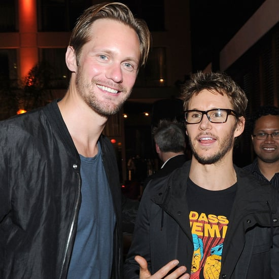 Ryan Kwanten and Alexander Skarsgard at Comic-Con Pictures