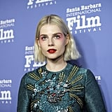 Lucy Boynton at the 2019 Santa Barbara International Film Festival