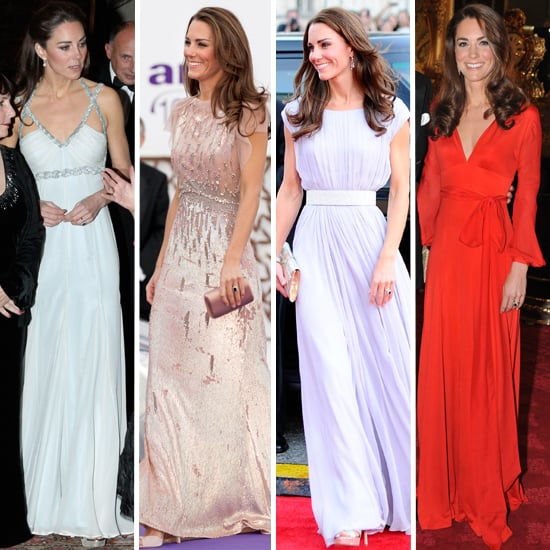 Kate Middleton's Evening Gowns