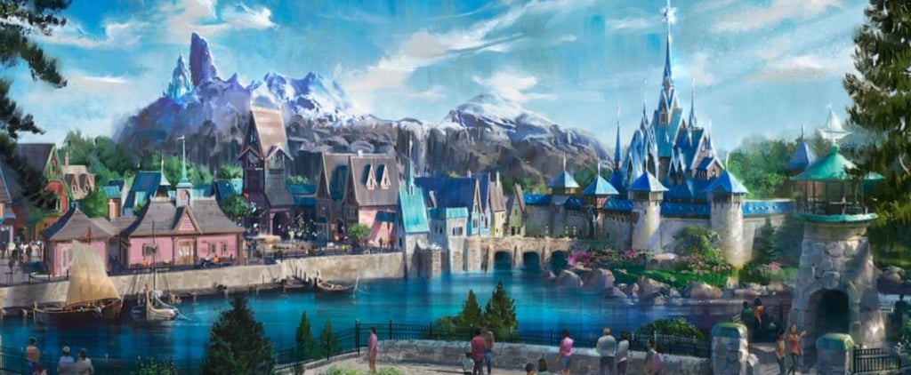 Frozen Land Details For Disneyland Paris