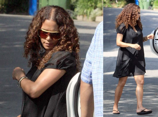 Halle Berry Gets Back Into Her LA Routine