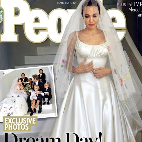 Angelina Jolie Wedding Dress Pictures