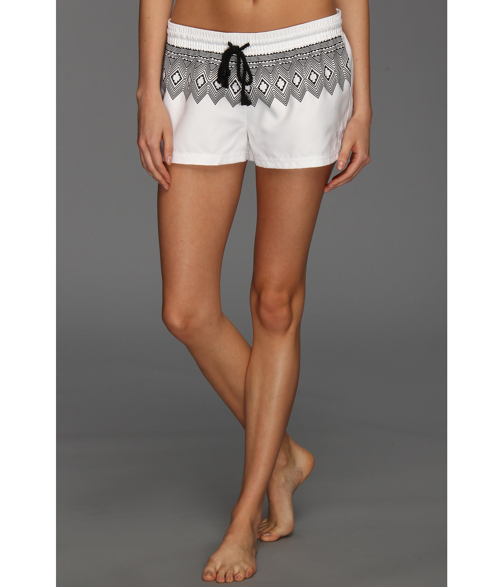 Roxy's black and white board shorts ($44) feature a chic print with a relaxed vibe — win, win.