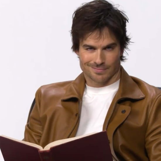 Ian Somerhalder Reading The Vampire Diaries Fanfiction Video