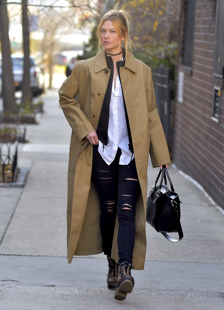 Karlie Kloss Artfully Mastered The Layering Look In Nyc