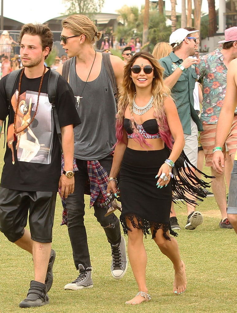 Vanessa Hudgens and Austin Butler were all smiles in 2014.