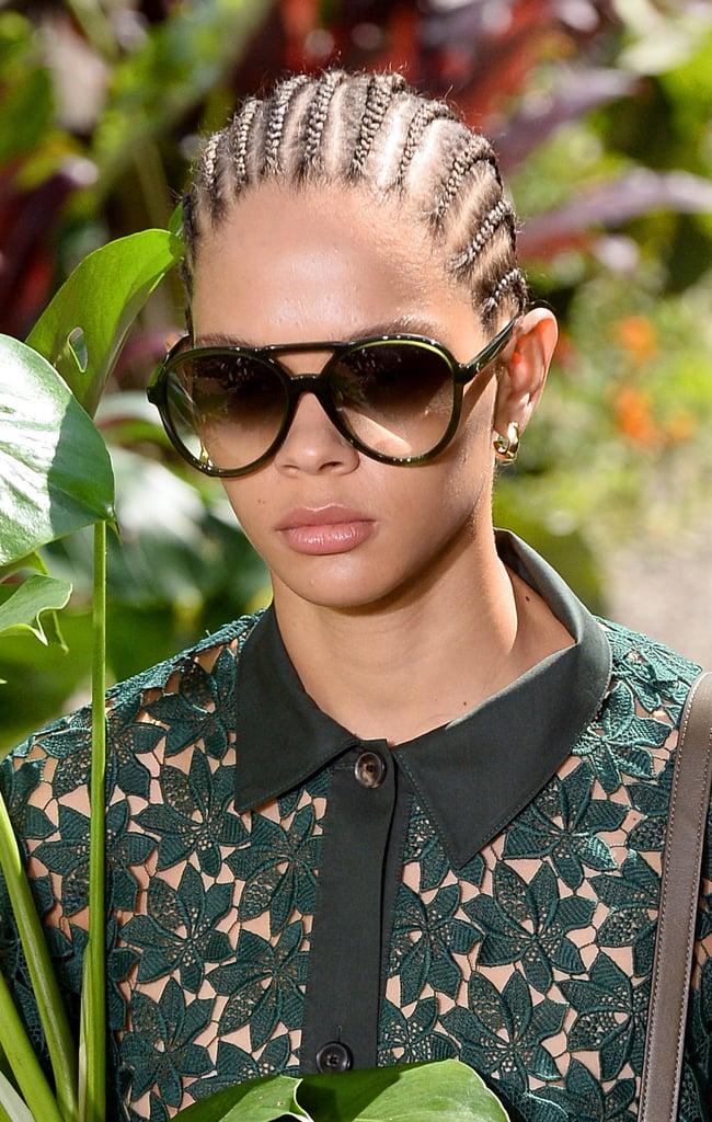 Sunglasses on the Kate Spade New York Runway at New York Fashion Week