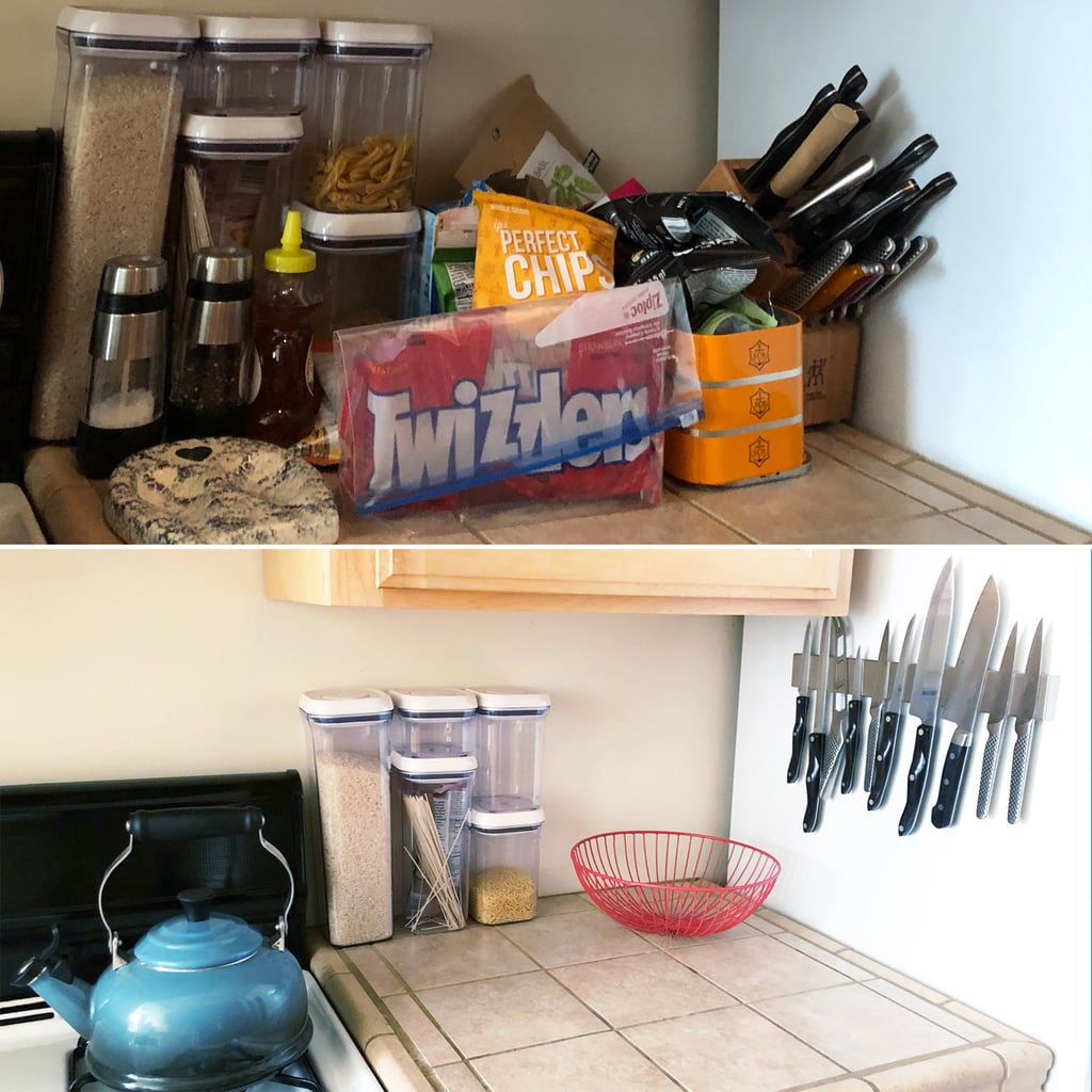 Organized Kitchen Before And After: Best Organization Products