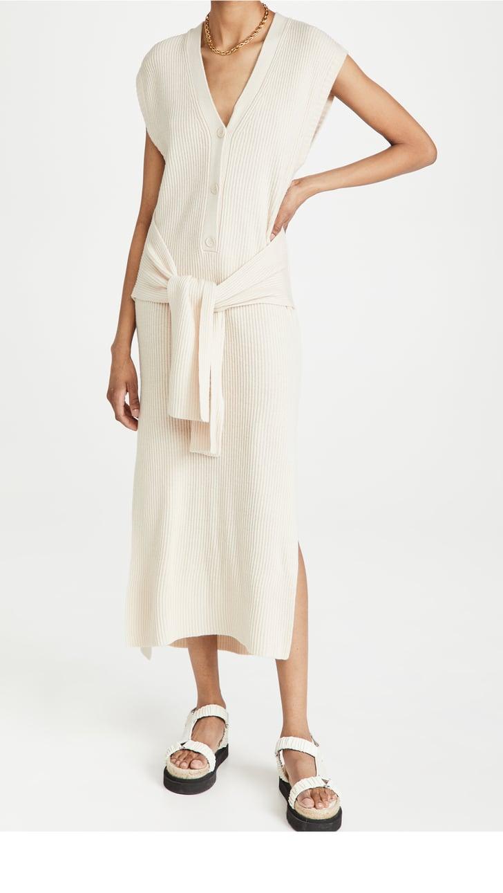 For the Next Road Trip: Jonathan Simkhai Annette Loungewear Henley Dress