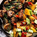 Pineapple Pork Stir-Fry With Peppers
