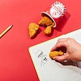 Fried Chicken Erasers