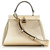 MICHAEL Michael Kors Gramercy Small Satchel Gold