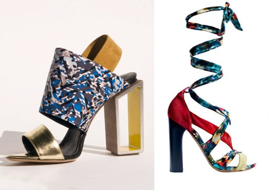 Nicholas Kirkwood for Erdem and Peter Pilotto Available to Buy Now