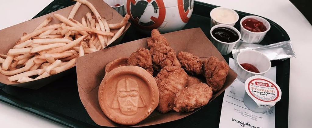 Disney's Star Wars Chicken and Waffles Are So Indulgent You'll Turn to the Dark Side