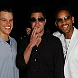 Matt Damon, Johnny Knoxville, and Will Smith