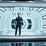 Benedict Cumberbatch in Star Trek Into Darkness.
