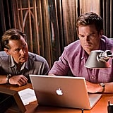 James Remar as Harry Morgan and Michael C. Hall as Dexter Morgan on Dexter.  Photo courtesy of Showtime