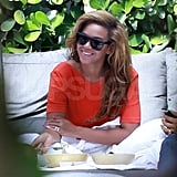 Pictures of Jay-Z and Beyonce in Miami