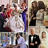 11 Bridal Lessons From Weddings in Film Messy ex situations, terrible bridesmaid dresses, awkward altar moments — needless to say, movie weddings can serve up more than a little drama. Although the scripted situations (hopefully) won't happen to you, these onscreen ceremonies can certainly teach you a lesson or two. Currently planning a wedding of your own? Check out these bridal dos and don'ts inspired by weddings in film to make sure that your big day goes as smoothly as possible.
