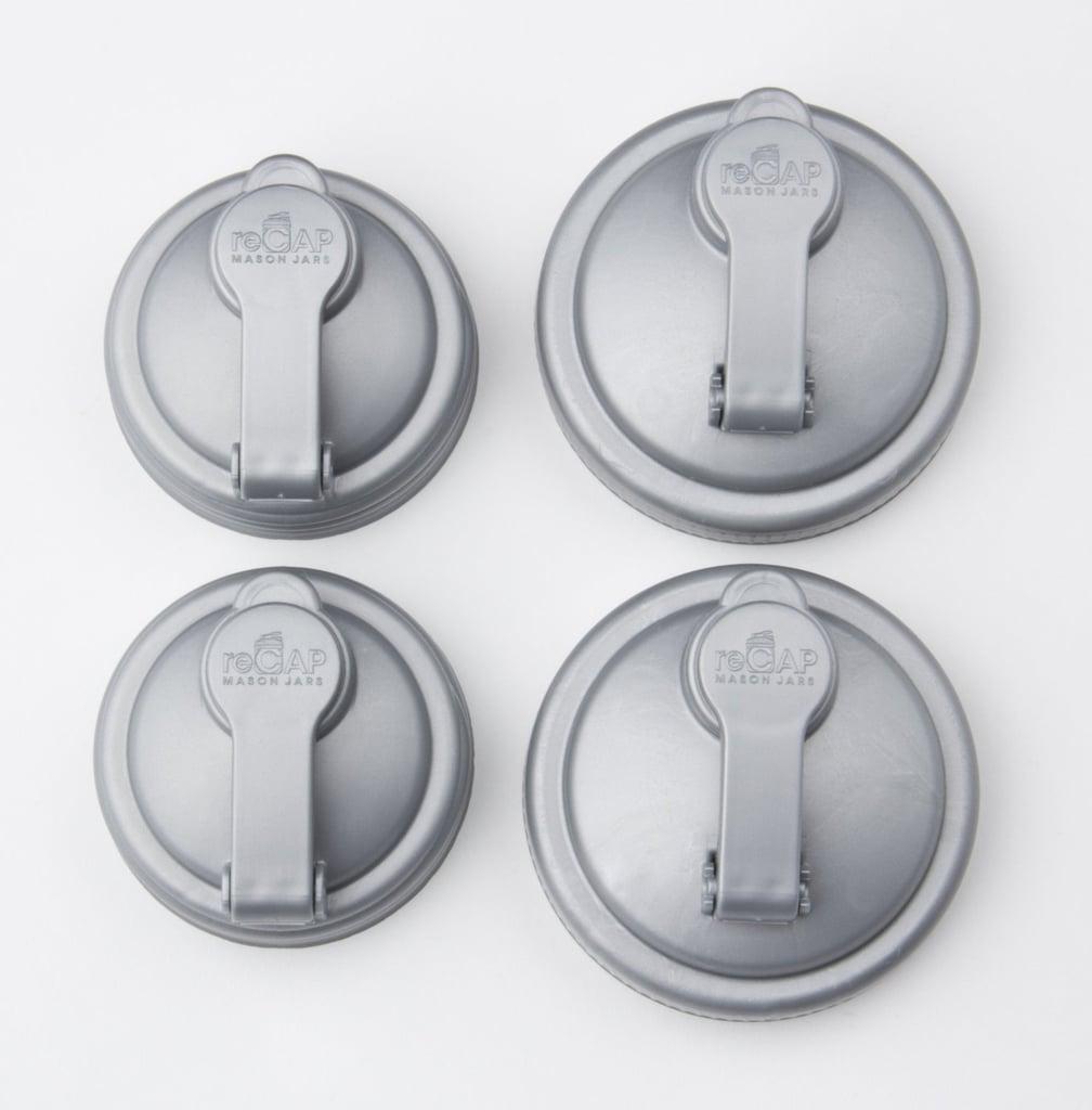 Recap Mason Jar Pour Caps