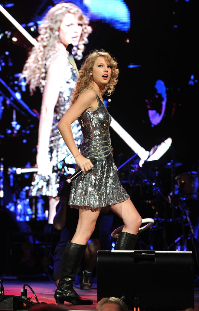 Pictures of Sandra Bullock, Taylor Swift, Miley Cyrus, Carrie Underwood, and More at the Nashville Rising Concert