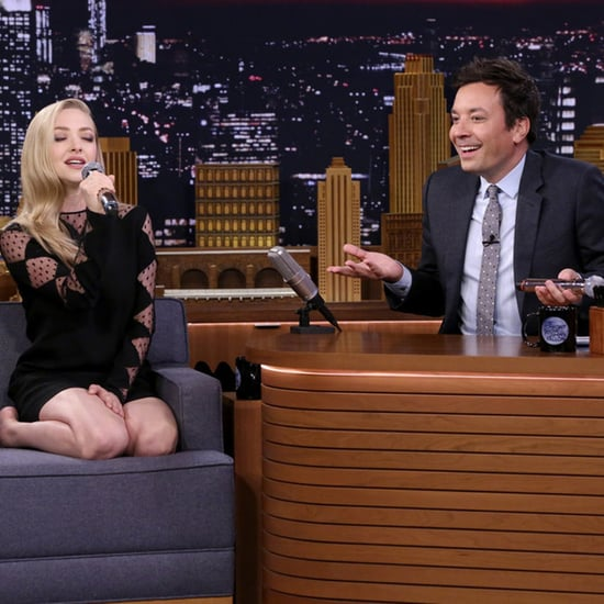 Amanda Seyfried Google Translate Songs on Jimmy Fallon 2018