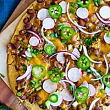 Vegetarian Chili Cornbread Pizza