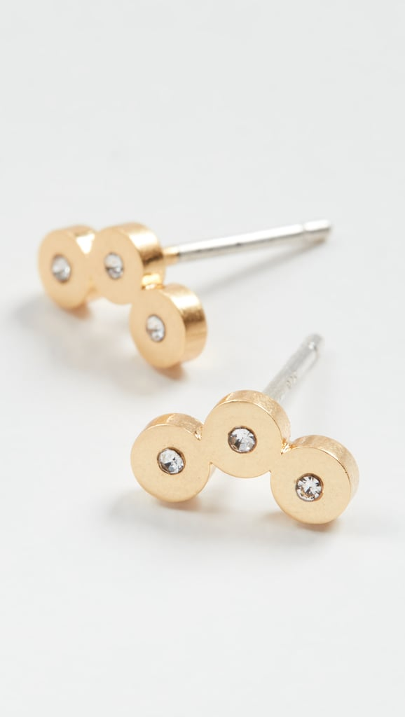 Madewell Triple Dot Stud Earrings