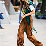 Gigi and Bella Hadid Wear Wandler Boots During Fashion Week