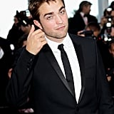 Robert Pattinson wore a simple suit at the premiere for On the Road at the Cannes Film Festival in 2012.