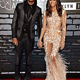 Future and Ciara held hands on the VMAs red carpet.
