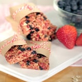 Triple-Berry Granola Bars