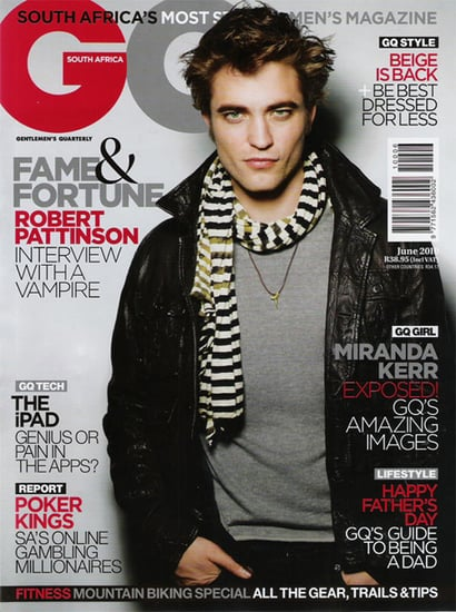 Robert Pattinson does GQ South Africa-june 2010