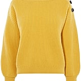 Karen Millen Jumbo Button Jumper