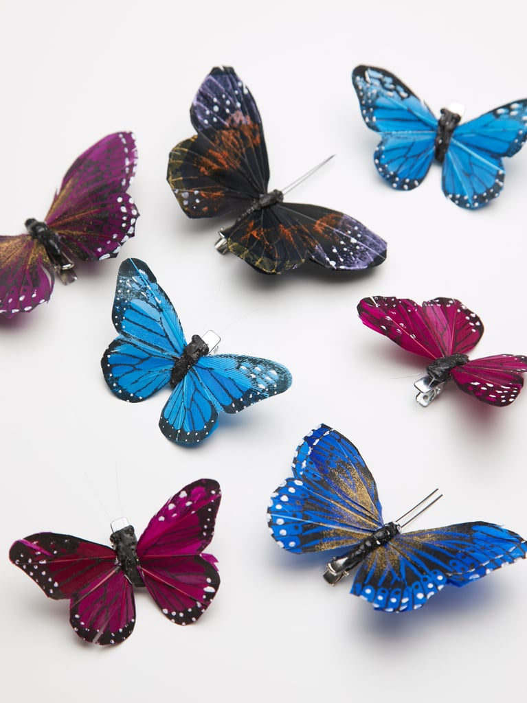 butterfly hair clip 7 pack gold where to buy butterfly hair