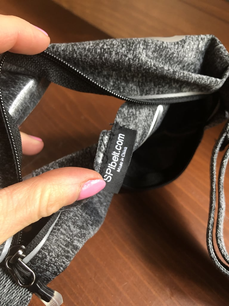 My phone slips in and out easily, but the separate pocket inside the larger pocket prevents my phone from slipping around.