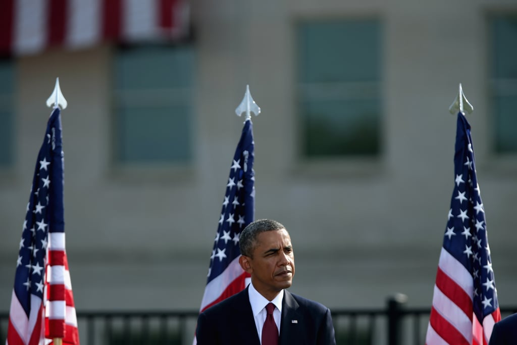 President Barack Obama delivered remarks at the Pentagon in Arlington, VA.