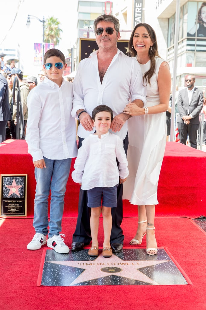 Simon Cowell and His Family
