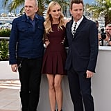 Diane Kruger hung out with Jean Paul Gaultier and Ewan McGregor at the Cannes Film Festival jury photocall.