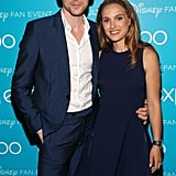 Thor: The Dark World's Natalie Portman and Tom Hiddleston stepped out for Disney's D23 Expo in LA.