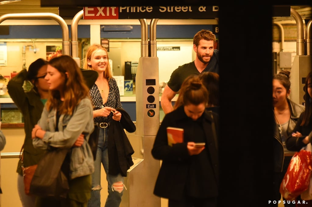 "Liam Hemsworth might be moving on following his split from Miley Cyrus — so who's the new leading lady? It appears to be 22-year-old Dynasty actress Maddison Brown, a fellow Australian who also starred in 2015's Strangerland and the series The Kettering Incident. On Thursday, Liam, 29, and Maddison were spotted smiling together while swiping into a subway station in NYC's West Village. Photos obtained by TMZ also show the pair holding hands and enjoying a bite to eat at Italian restaurant Sant Ambroeus. The duo's romantic outing comes a week after Miley confirmed she's dating longtime friend Cody Simpson. After photos of Miley and Cody kissing surfaced, the ""Mother's Daughter"" singer took to Twitter to push back against critics, saying, ""I have a great life I wouldn't trade for 'privacy' but PLEASE don't make this awkward for me! I am trying to make light and like always MAKE FUN of myself / and the public's perception of me! Get used to me dating — this is where I am at!"" In August, Liam and Miley's 10-year on-and-off relationship came to an end as they announced their separation after seven months of marriage. ""They have decided this is what's best while they both focus on themselves and careers,"" Miley's rep said in a statement. Shortly after, Liam addressed the divorce on Instagram, writing, ""I wish her nothing but health and happiness going forward.""      Related:                                                                                                           The Way They Were: Remembering Liam Hemsworth and Miley Cyrus's Sweetest Instagram Moments"